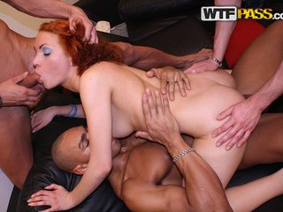 Sassy redhead in hardfuck porn