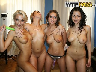 Sex full hd with kinky nice titted amateurs