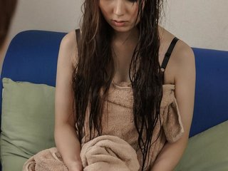 Yui Hatano sticks fingers in her beaver and..