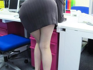 Leggy secretary Ibuki groped and assfucked in..